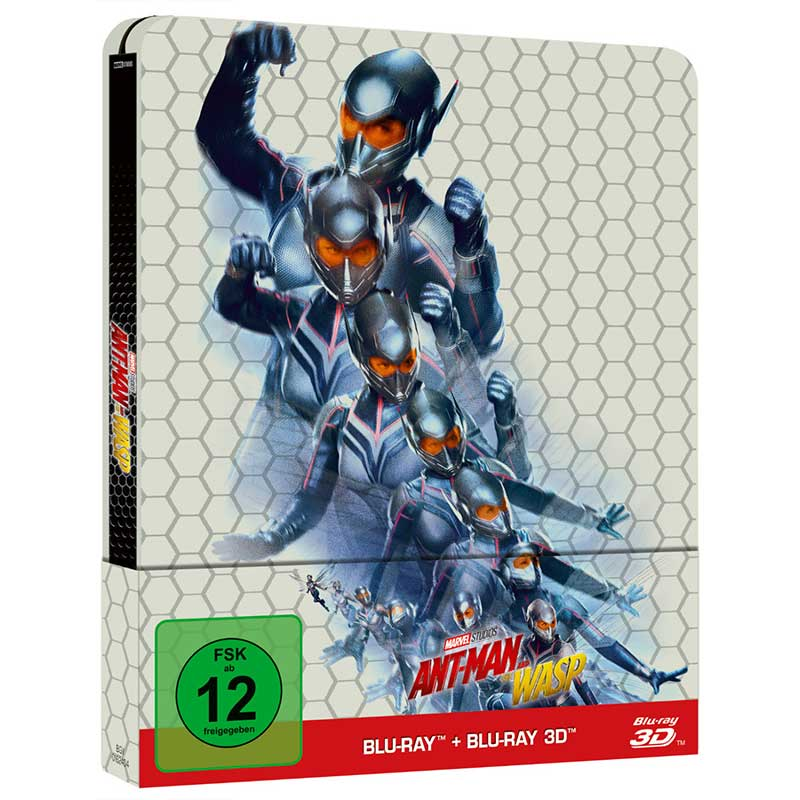 Ant-Man and the Wasp – Steelbook Edition (Blu-ray 2D/3D) für 17,54€