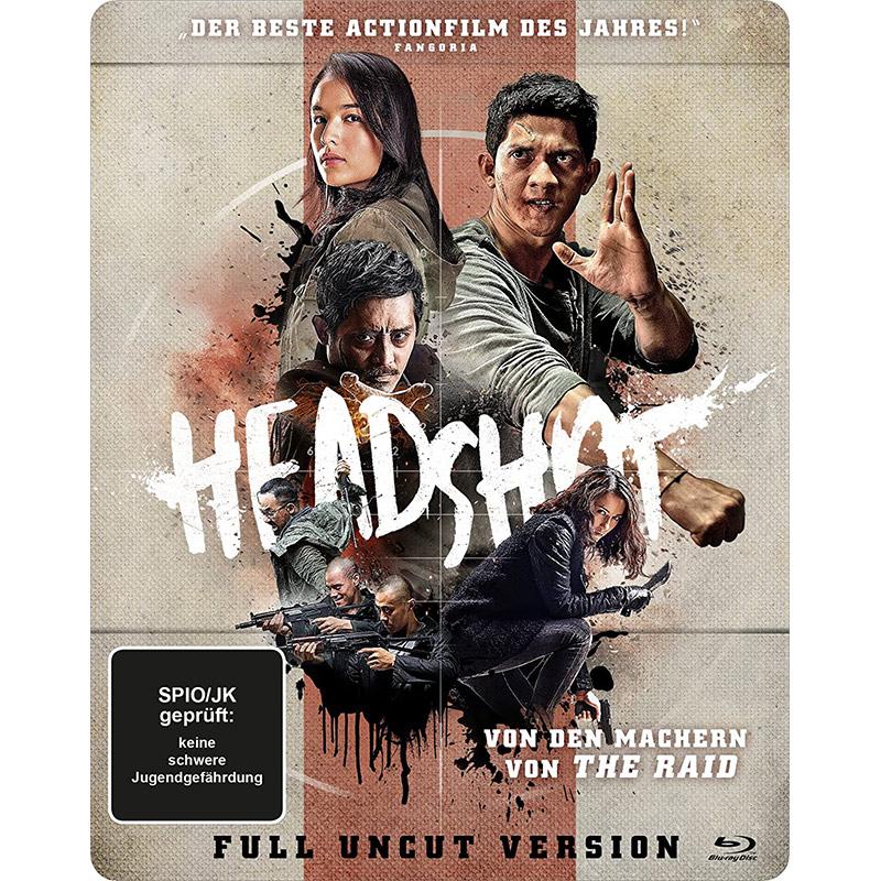 Headshot – Steelbook Edition [Blu-ray] für 9,97€