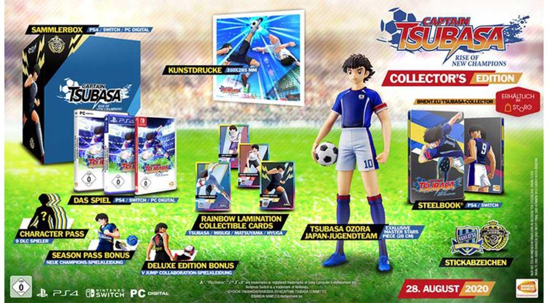 Captain Tsubasa: Rise Of New Champions – Collectors Edition für Nintendo Switch für 97,51€ und für Playstation 4 für 99,02€