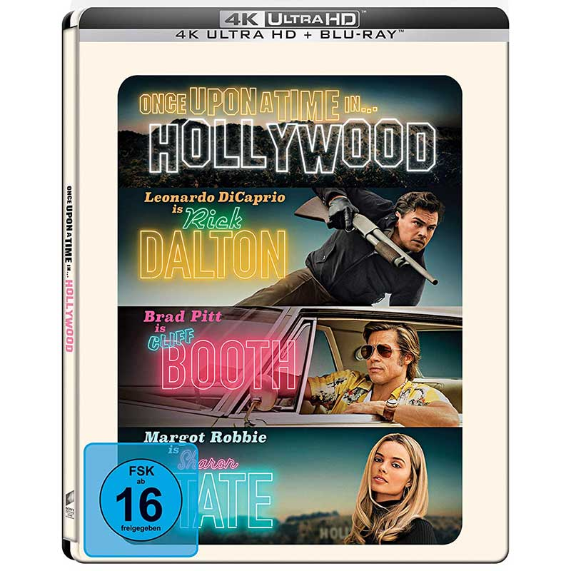 Once Upon A Time In… Hollywood – Amazon exklusive Steelbook Edition (4K UHD + Blu-ray) für 14,97€