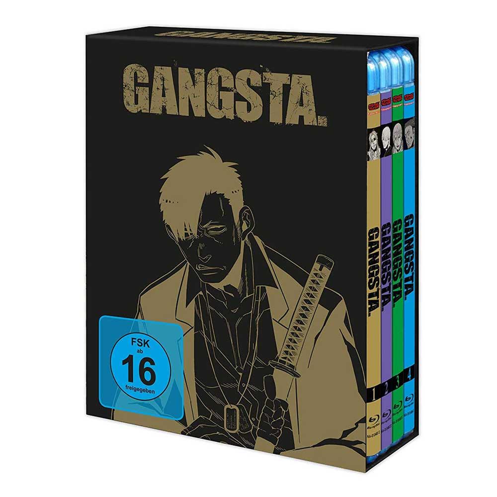 Gangsta – die komplette Serie in einer Blu-ray Box für 33,70€
