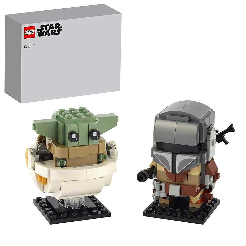"""LEGO 75317 BrickHeadz Star Wars – Der Mandalorianer und """"The Child"""""""