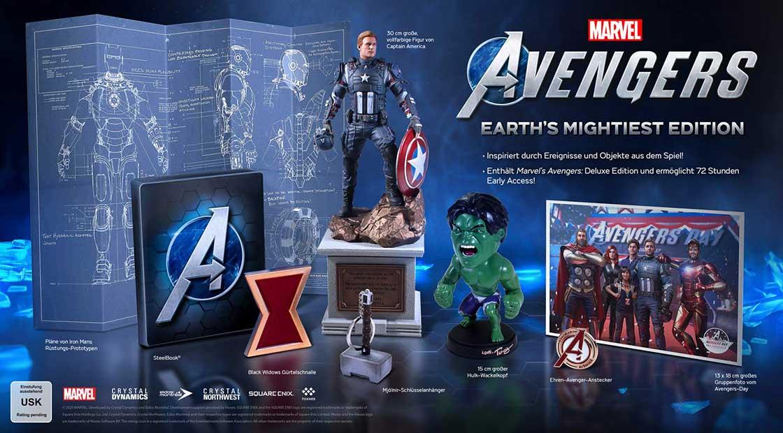 Marvel's Avengers – Earth's Mightiest Edition für Playstation 4 für 99,99€