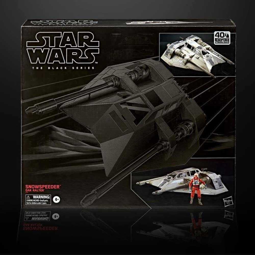 Star Wars: Snowspeeder & Dak Ralter Actionfiguren-Set (Hasbro | Black Series) für 76,99€