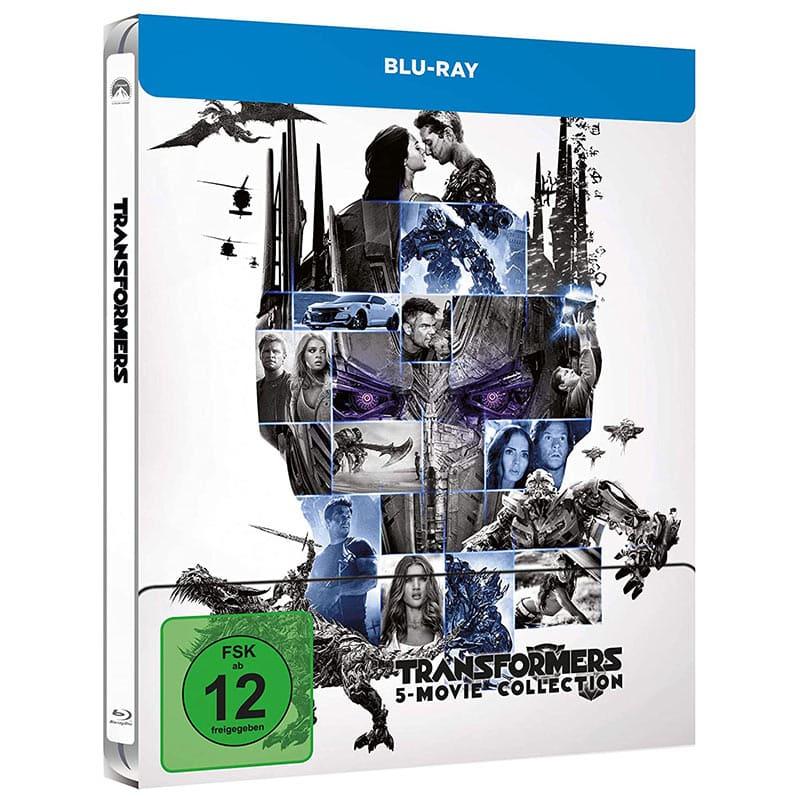 Transformers 5 Movie Collection – Steelbook Edition (Blu-ray) für 25,99€