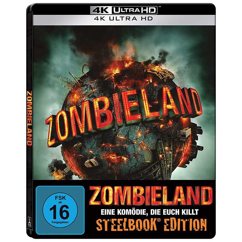 Zombieland – Steelbook Edition (4K UHD) für 14,99€