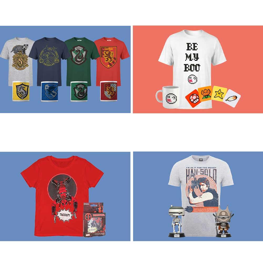 Reduzierte T-Shirt Bundles bei Zavvi – unter anderem: Han Solo Shirt + 2 POPS! für 16,99€