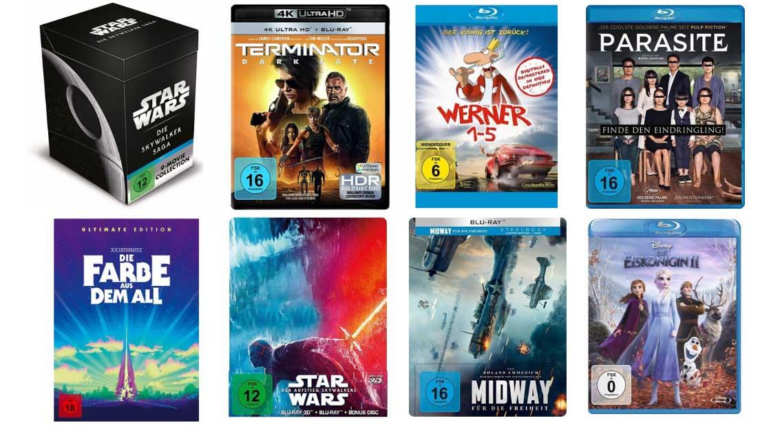 13% Rabatt auf Filme Spielwaren, Hörbücher und Hörbuch-Downloads bei Buecher – unter anderem mit: Star Wars 1 – 9 – Die Skywalker Saga, 18 Blu-ray für 76,55€
