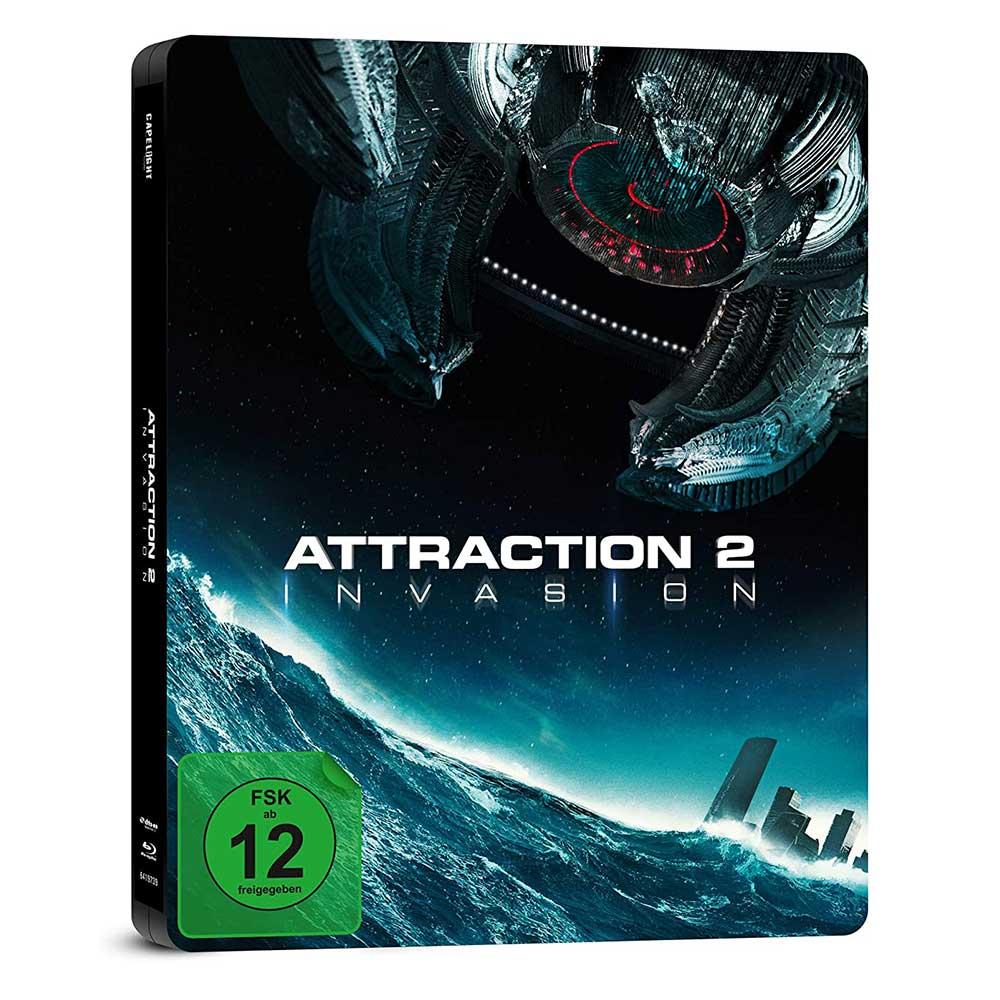 Attraction 2: Invasion – Steelbook Edition (Blu-ray) für 7,97€