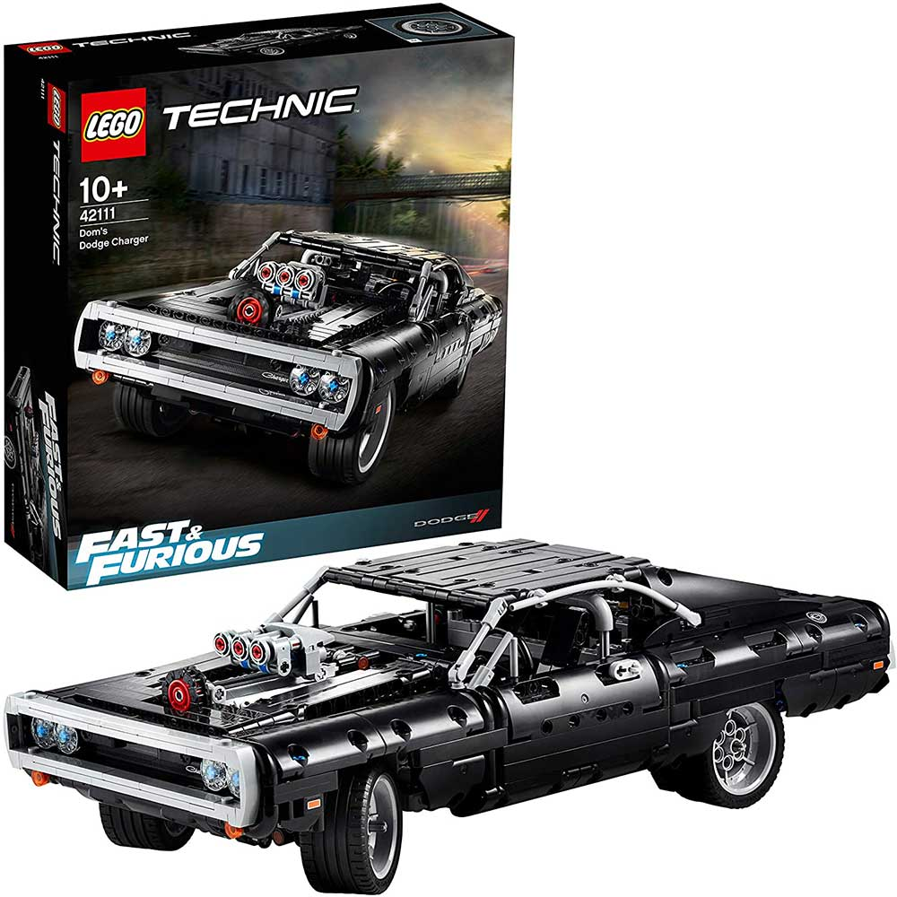 Fast & Furious –  Dom's Dodge Charger (Lego Technik)