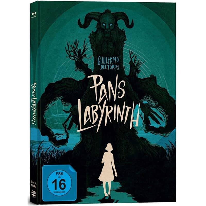 Pans Layrinth – Mediabook Edition (Blu-ray + DVD + Bonus-Blu-ray) für 11,97€