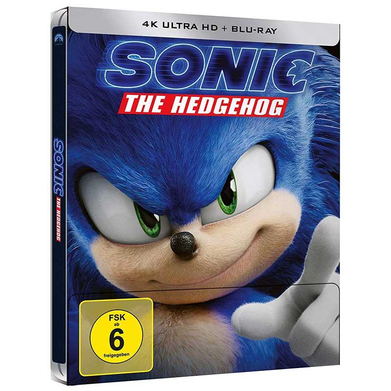 Sonic the Hedgehog – Steelbook Edition (4K UHD + Blu-ray) für 25,99€
