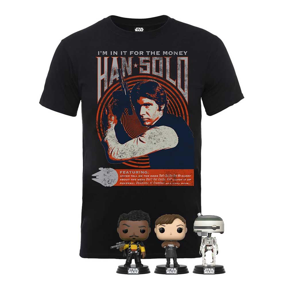 Star Wars POP & T-Shirt Bundle für 20,48€