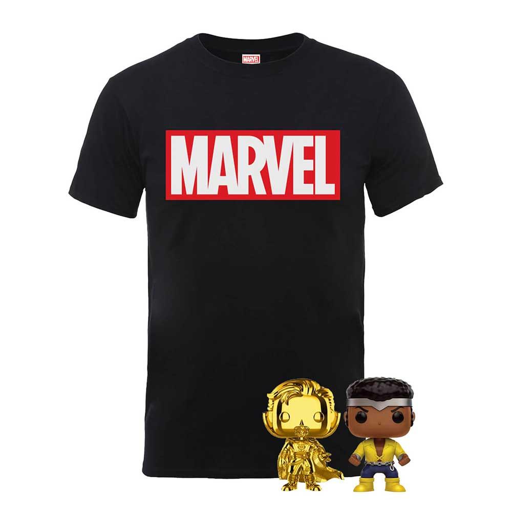 The Marvel Pop! & T-Shirt Bundle für 16,99€