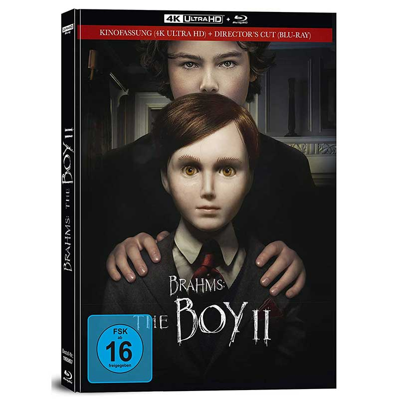 Brahms: The Boy II – Mediabook Edition (4K UHD + Blu-ray) für 17,97€