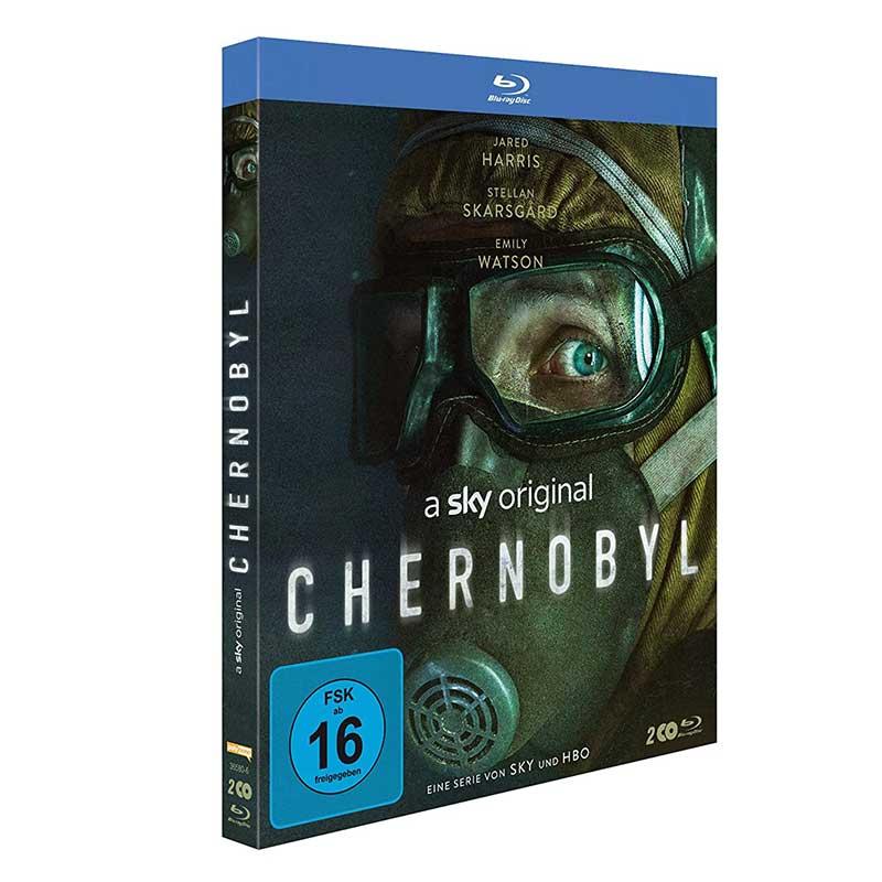 Chernobyl – die komplette Mini Serie [Blu-ray] für 14,99€
