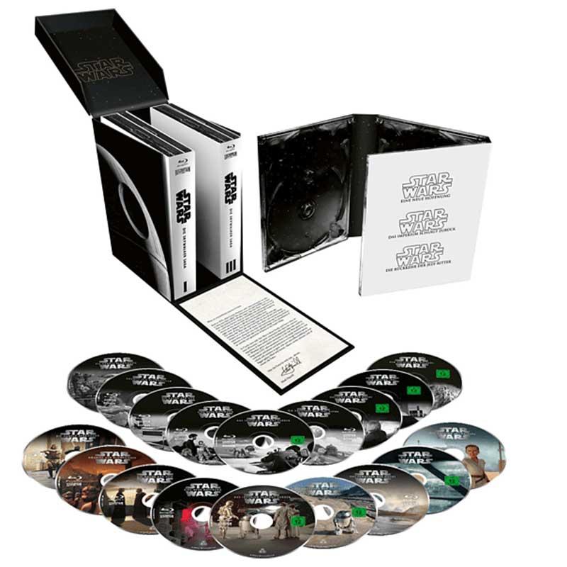 Star Wars Episode 1-9 – Die Skywalker Saga (Blu-ray) für 73,99€