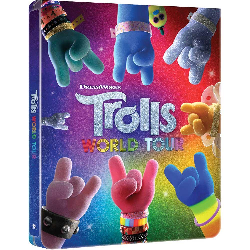 """""""Trolls World Tour"""" erscheint in England in einer Blu-ray 3D Steelbook Edition"""