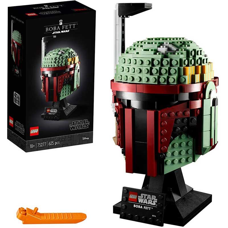 Boba Fett Helm Lego für 43,86€ | Stormtrooper Helm für 48,98€