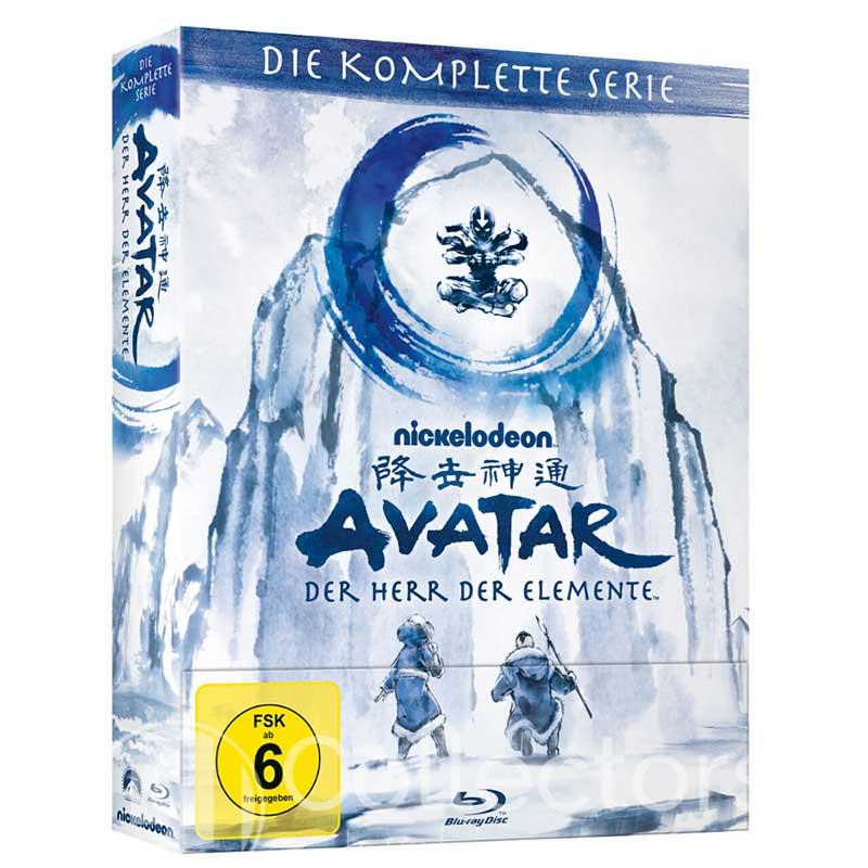 Avatar – der Herr der Elemete – Die komplette Serie auf Blu-ray für 79,97€