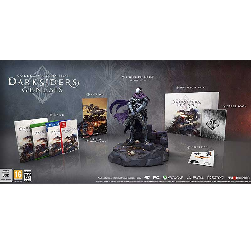 Darksiders Genesis – Nephilim Edition (Playstation 4) für 136,58€