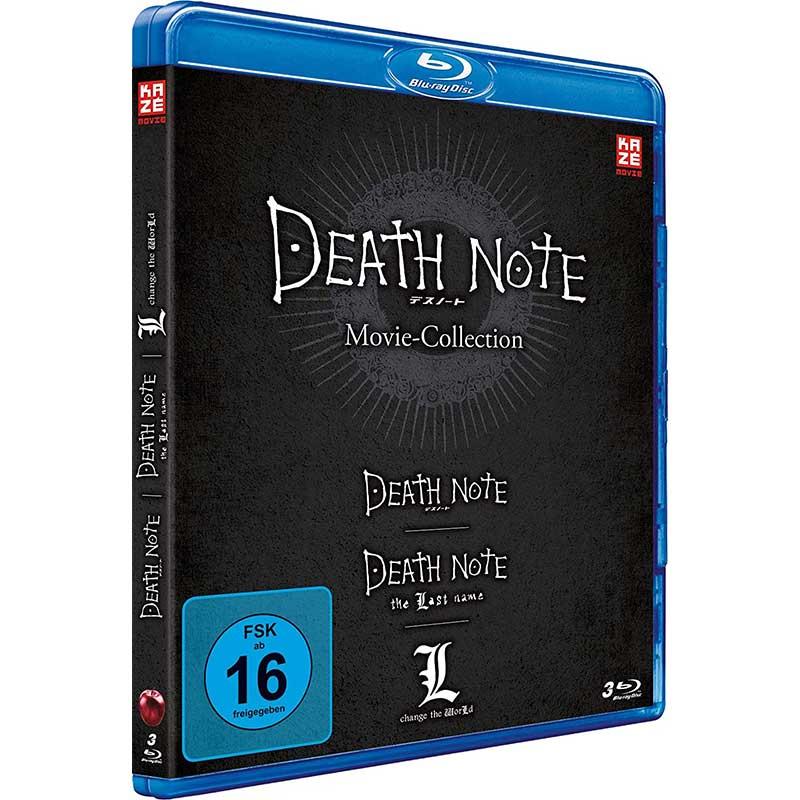 Death Note Movies 1-3 (Blu-ray) für 29,95€