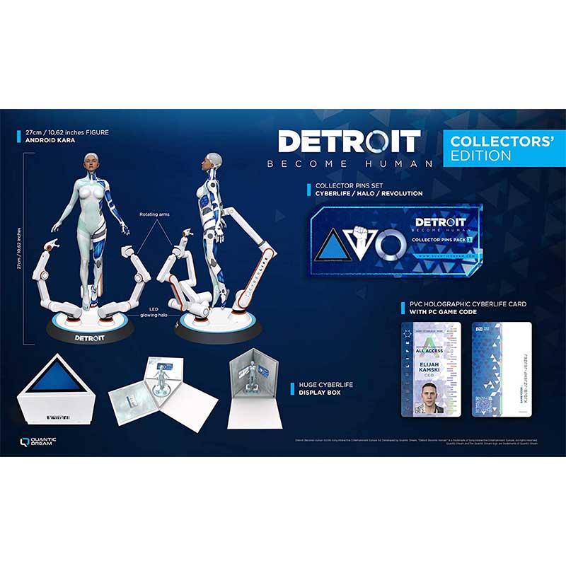 """""""Detroit: Become Human"""" Collectors Edition (PC) für 119,24€"""