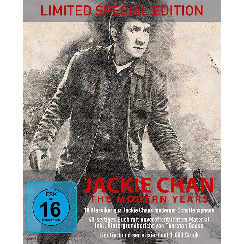 Jackie Chan – The Modern Years 10-Disc-Digipak Edition (Blu-ray) für 48,55€