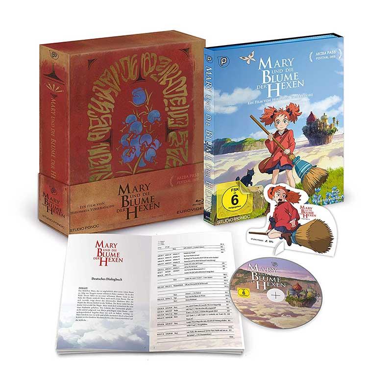 Mary und die Blume der Hexen – Limited Edition (Blu-ray) für 21,97€