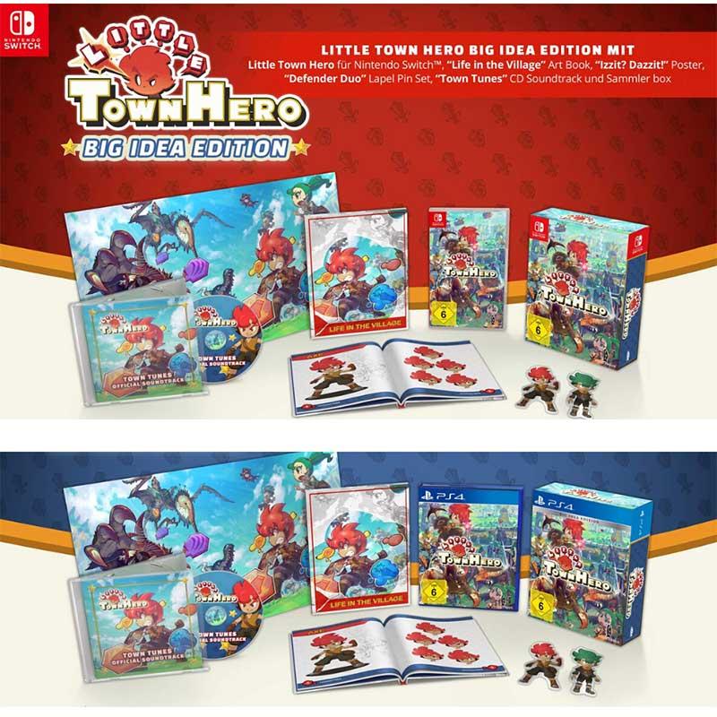Little Town Hero – Big Idea Edition Nintendo Switch für 37,99€ und Playstation 4 für 36,99€