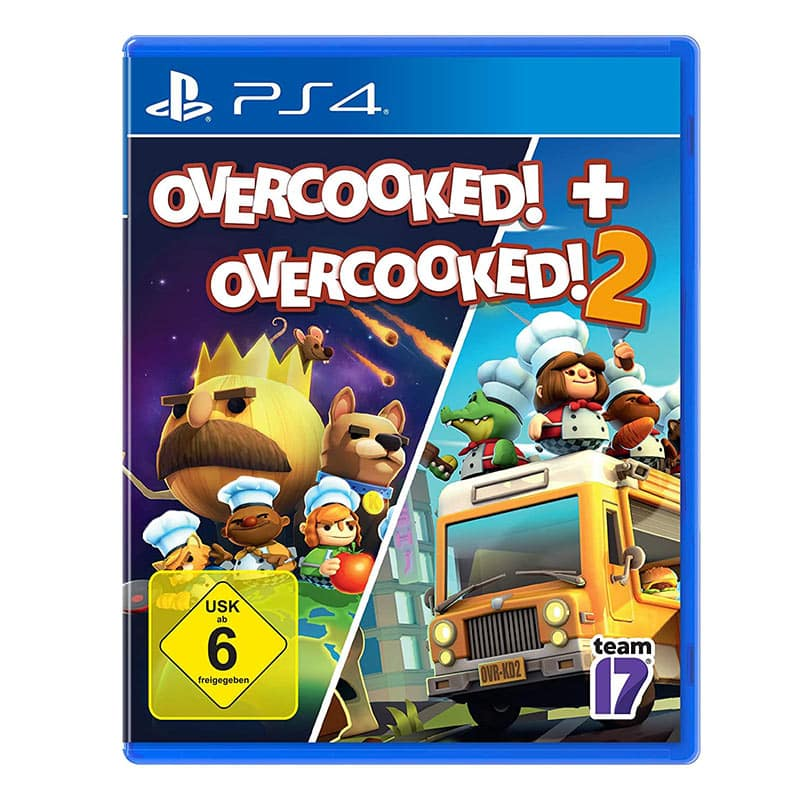OVERCOOKED + OVERCOOKED 2 – Playstation 4 für 14,99€