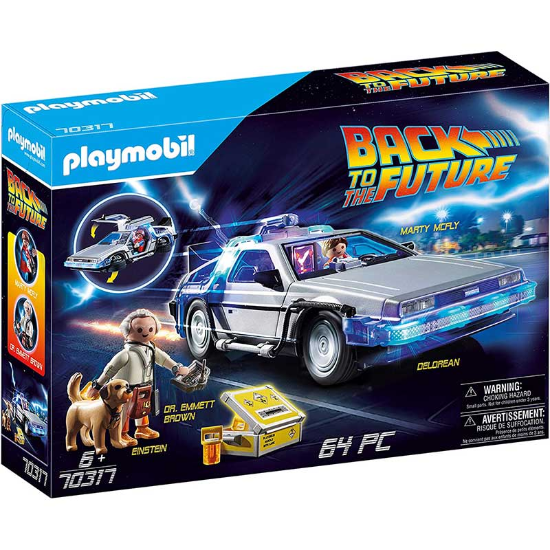 Playmobil 70317: Back to The Future Fahrzeugset für 32,99€