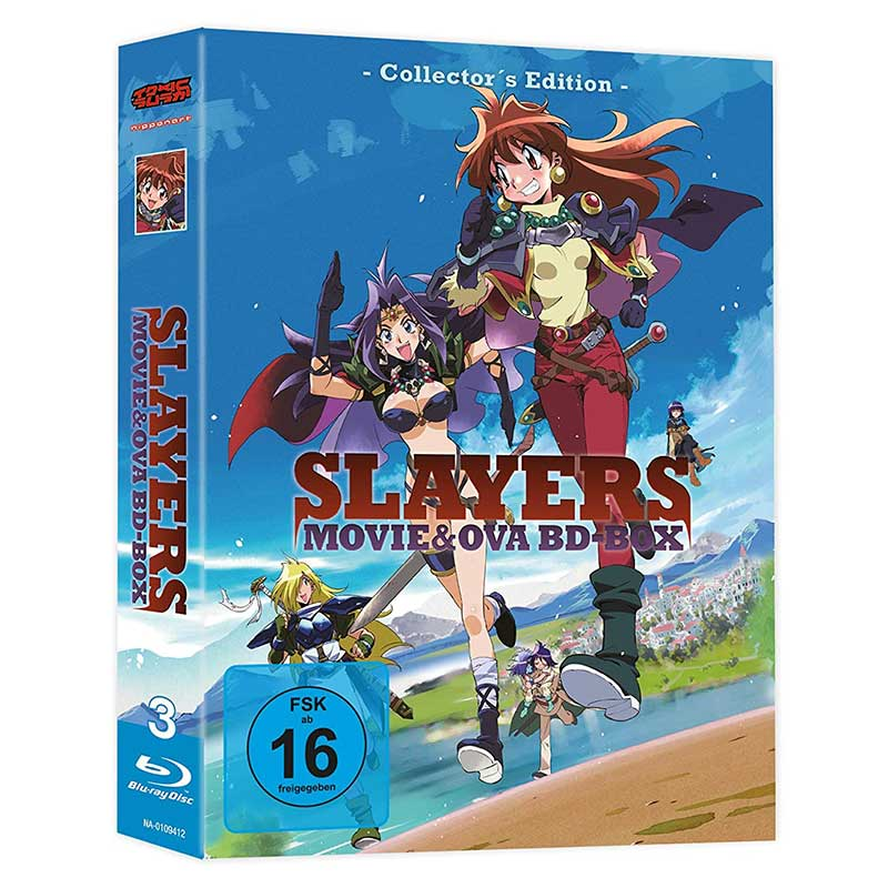 Slayers – Movies & OVAs Gesamtausgabe [Blu-ray] für 29,99€
