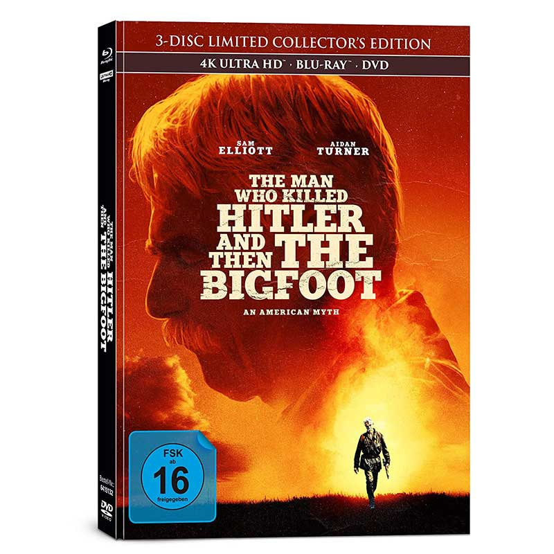 The Man Who Killed Hitler and Then The Bigfoot – Mediabook Edition (4K Blu-ray + Blu-ray + DVD) für 17,63€