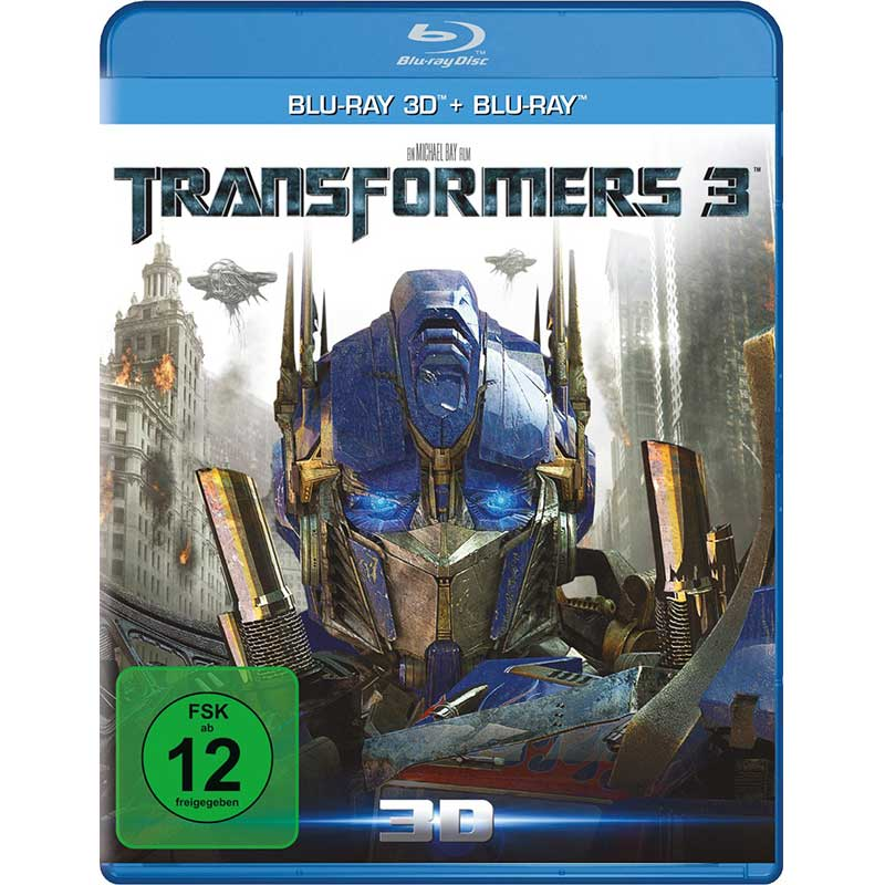 Transformers 3 – Dark of the moon (Blu-ray 3D + Blu-ray) für 4,99€