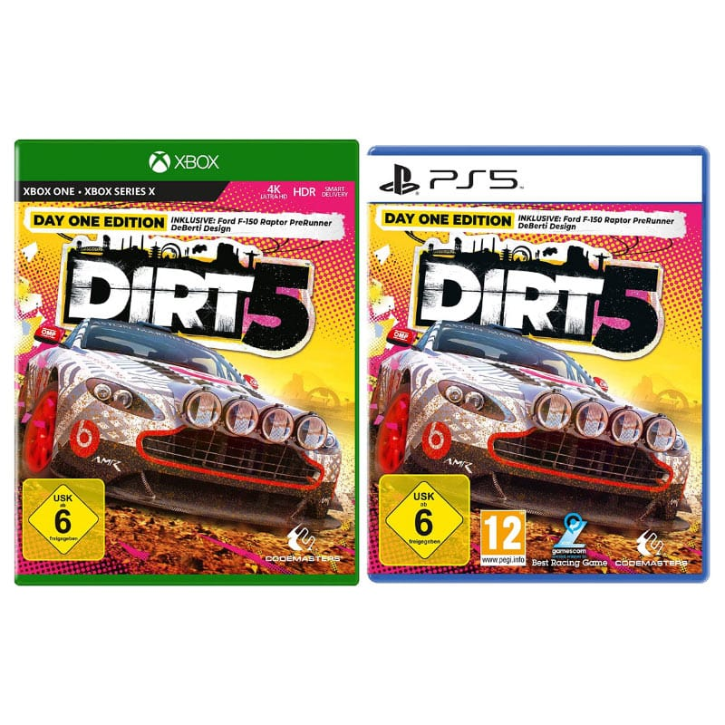 """DIRT 5"" ab November für die Playstation 4/5, Xbox One/Series X und den PC"