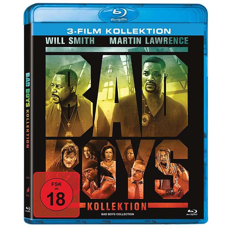 Bad Boys 1-3 [Blu-ray] für 10,69€