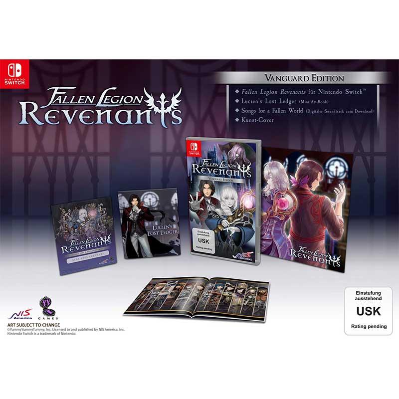 """""""Fallen Legion Revenants"""" Limited Edition für die Nintendo Switch & Playstation 4 für je 29,99€"""
