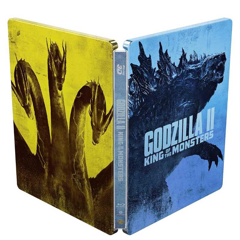 Godzilla II: King of the Monsters – Amazon exklusive Steelbook Edition (3D Blu-ray + 2D Blu-ray) für 16,60€