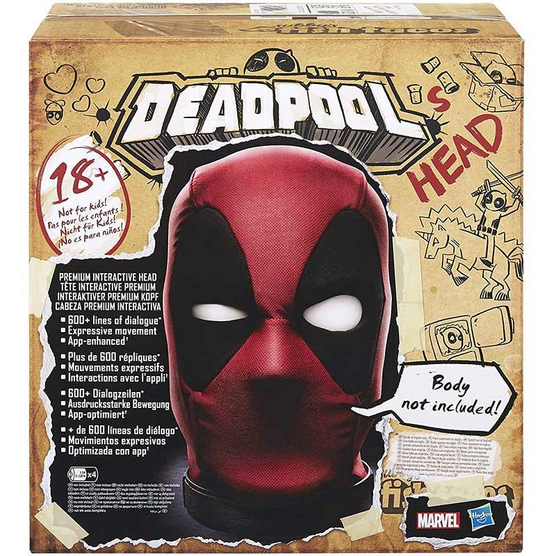 Hasbro Marvel Legends Deadpools Interaktiver Kopf – App gesteuert für 82,31€