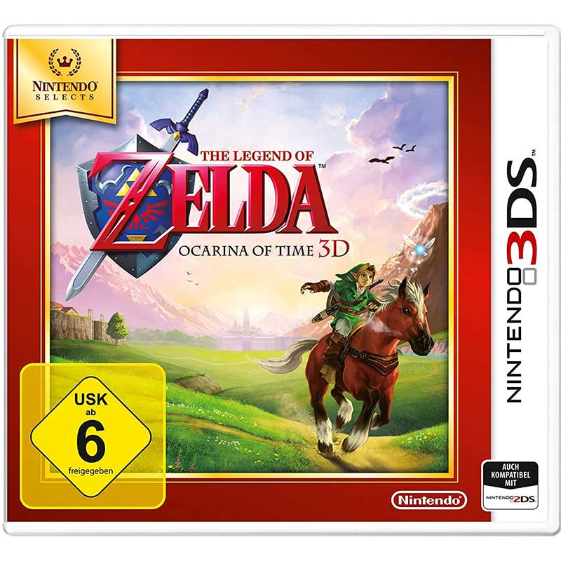 The Legend of Zelda: Ocarina of Time 3D – (Nintendo 3DS) für 8,92€