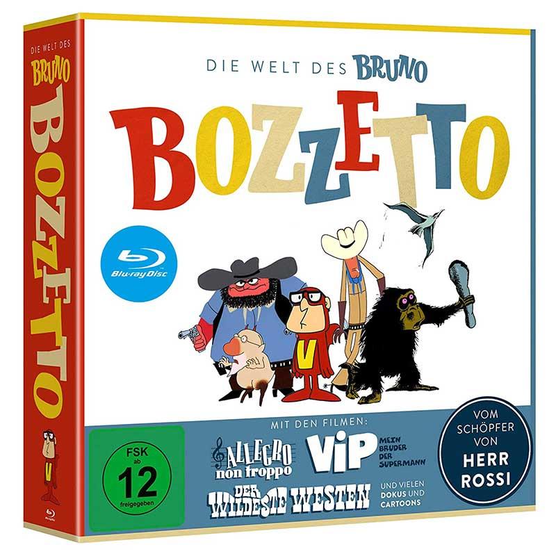 Die Welt des Bruno Bozzetto (Blu-ray) für 29,97€