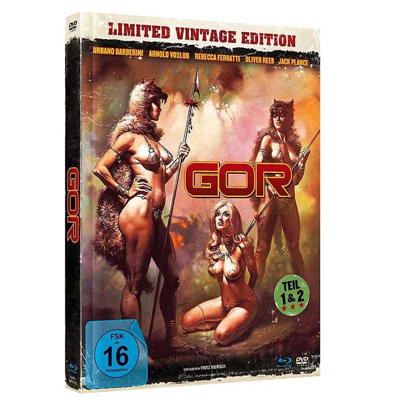 """""""GOR 1 & 2"""" im Vintage Blu-ray Mediabook für 16,79€"""