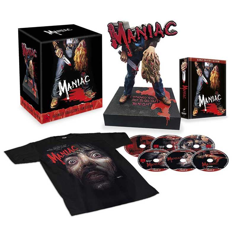 """""""Maniac (1980)"""" in der Ultimate Collectors Edition inkl. Büste für 86,64€"""