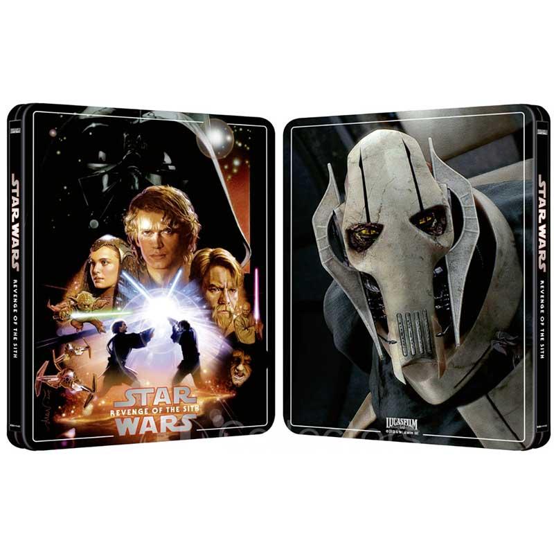 Star Wars Episode Iii Die Rache Der Sith Erscheint Im 4k Steelbook