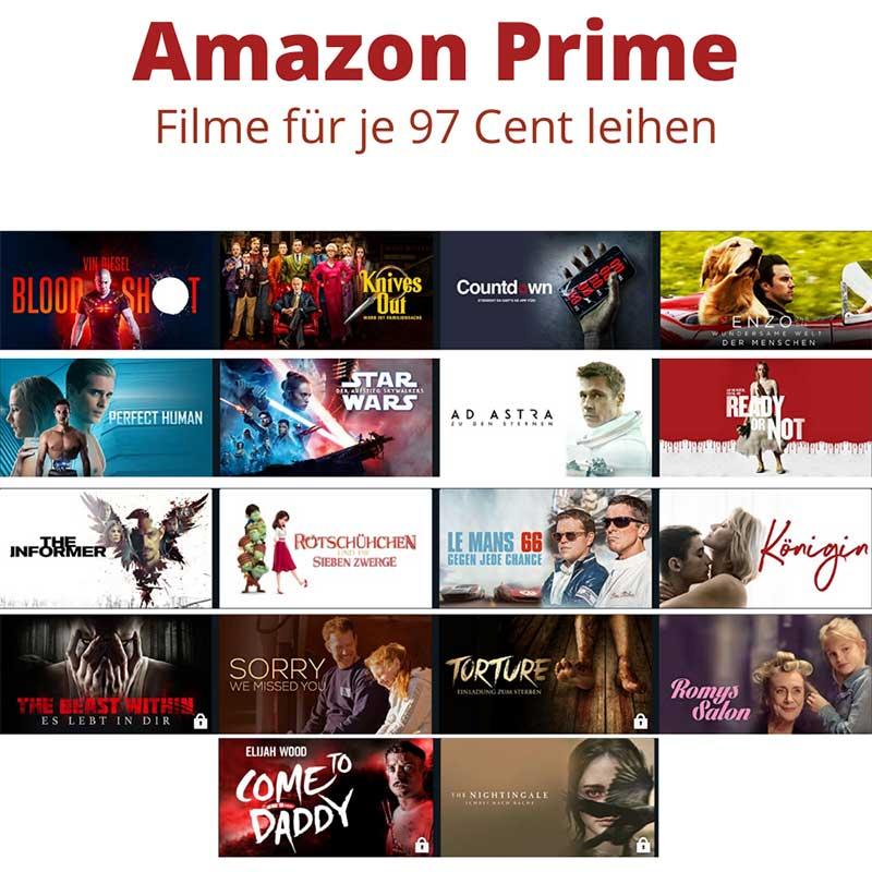 [Angebot Prime] Filme leihen für 99 Cent – unter anderem mit: Bloodshot | Knives Out | Star Wars: Der Aufstieg Skywalkers