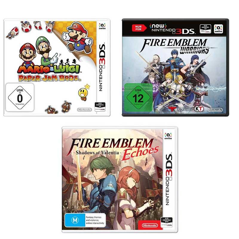 Nintendo 3DS Spiele für je 9,99€