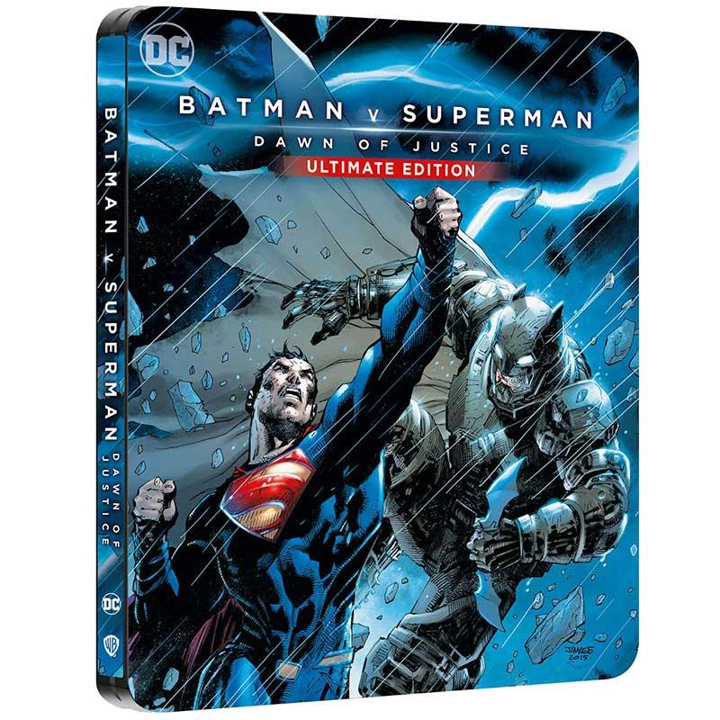 Batman v Superman – Steelbook Edition (4K UHD + Blu-ray) (Frankreich) für 20,50€