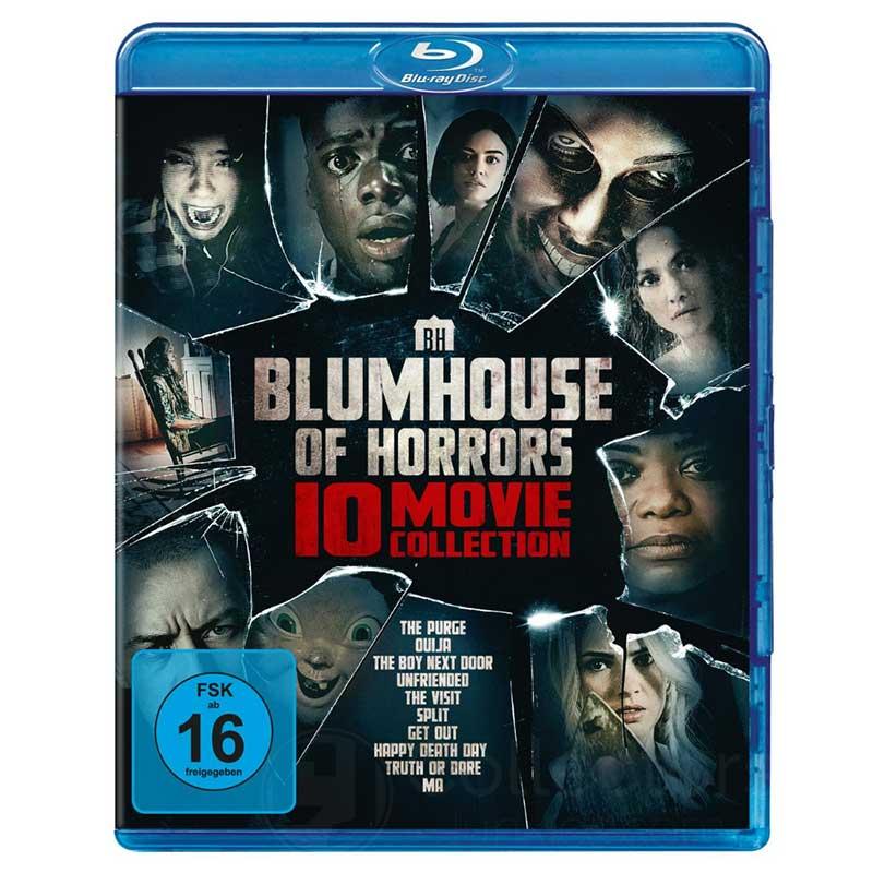 Blumhouse of Horrors – 10-Movie Collection (Blu-ray) für 39,97€