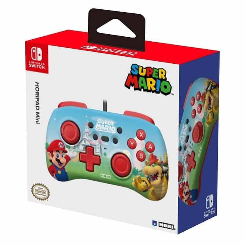 HORI Switch Minipad im Super Mario Design
